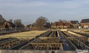 14-12-2014 - Parkeergarage onder de nieuwbouw op de hoek van den Bogertlaan en de van Dompselaerstraat - Barneveld