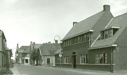 Langstraat in 1955