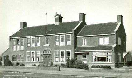 Thorbeckelaan, Waterschap - Westeneng, Barneveld - Jaren 50