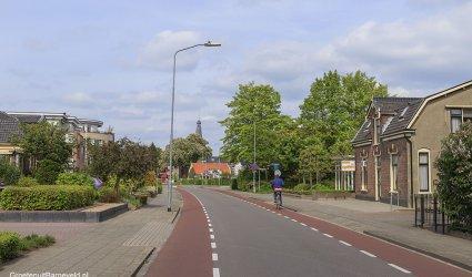 Amersfoortsestraat, Kapperzaak H. van Lier en Erica state, Barneveld - 2014