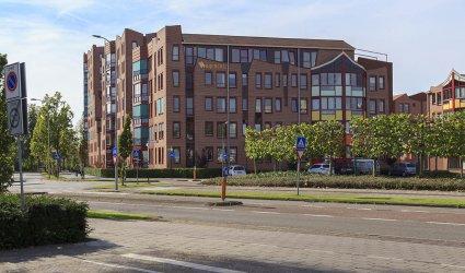 Heden 2014 - Appartementencomplex Bijeberg op de hoek van de Langstraat en Bouwheerstraat - Barneveld